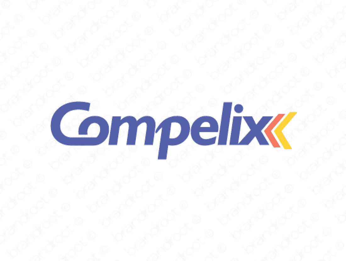 Compelix logo design included with business name and domain name, Compelix.com.