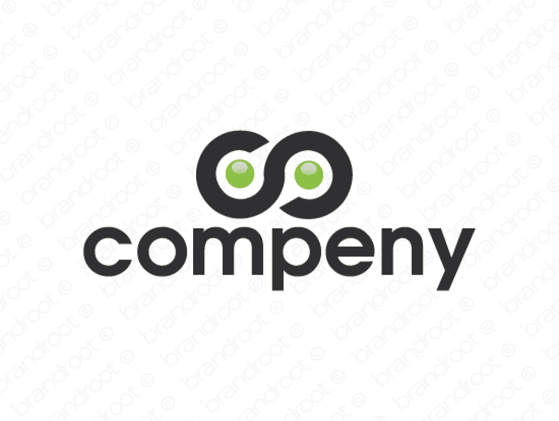 Compeny logo design included with business name and domain name, Compeny.com.
