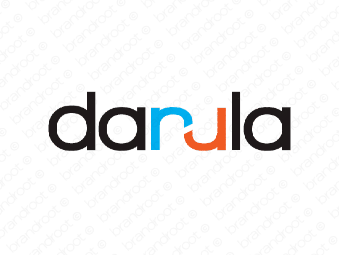 Danula logo design included with business name and domain name, Danula.com.