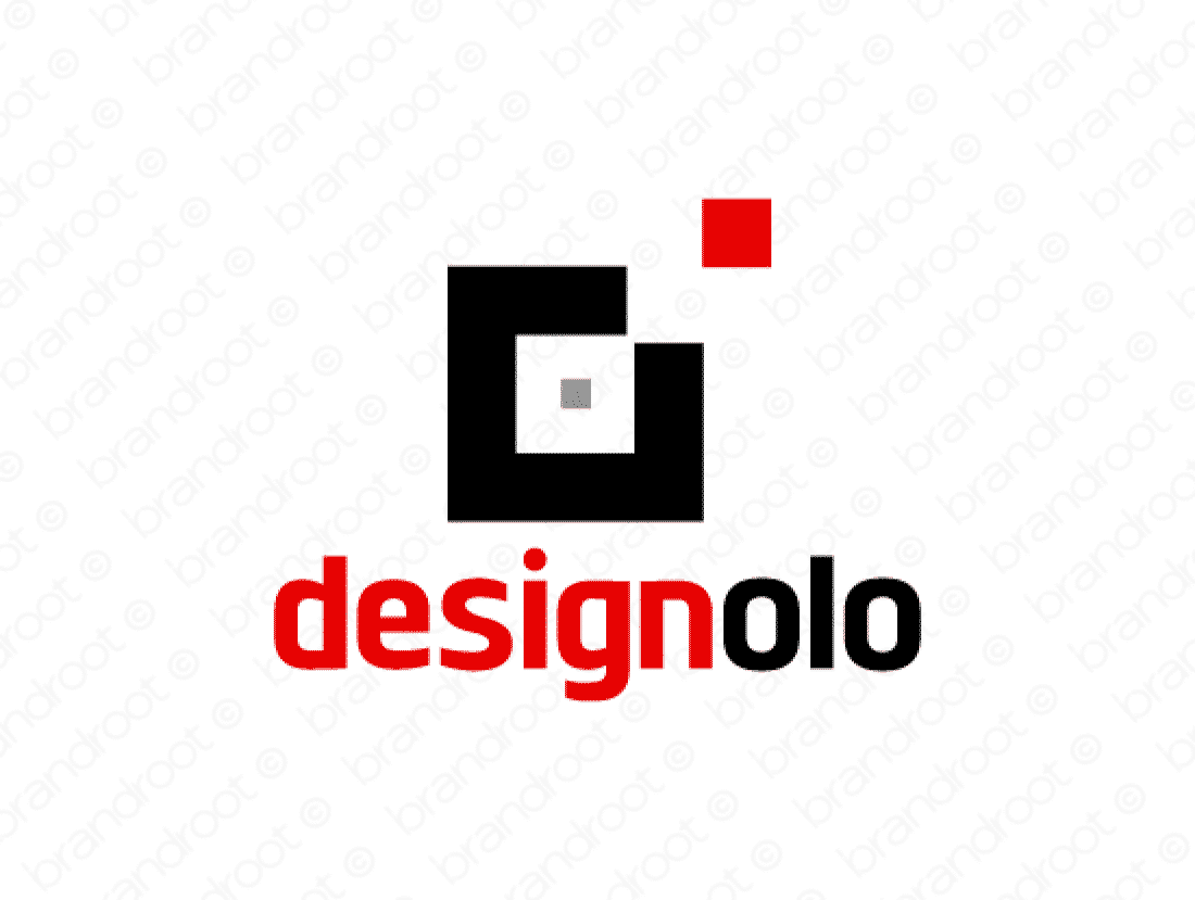 Designolo logo design included with business name and domain name, Designolo.com.