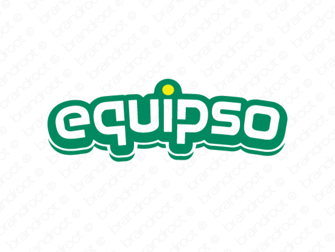 Equipso logo design included with business name and domain name, Equipso.com.