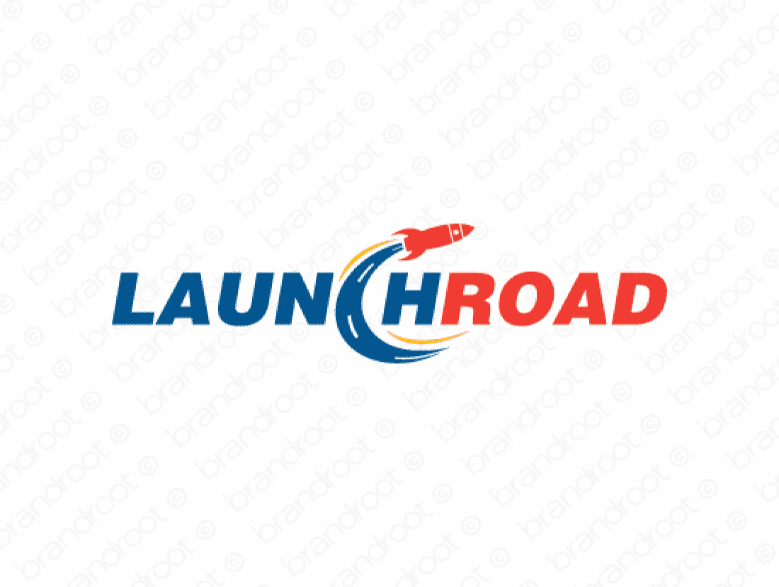 Launchroad logo design included with business name and domain name, Launchroad.com.