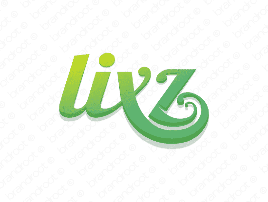 Lixz logo design included with business name and domain name, Lixz.com.