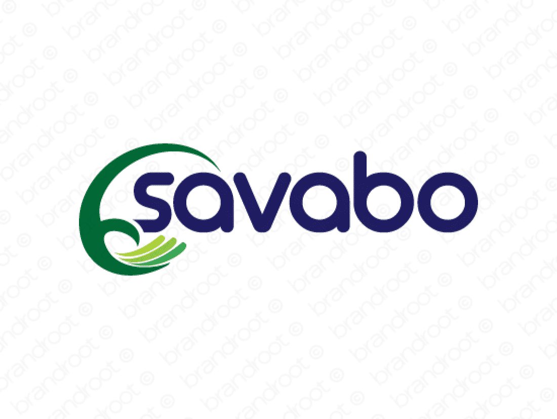Savabo logo design included with business name and domain name, Savabo.com.