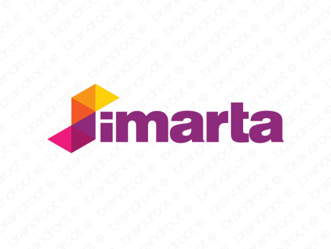 Simarta logo design included with business name and domain name, Simarta.com.