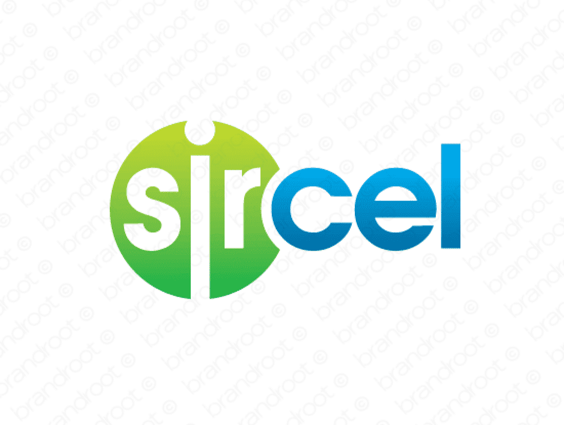 Sircel logo design included with business name and domain name, Sircel.com.