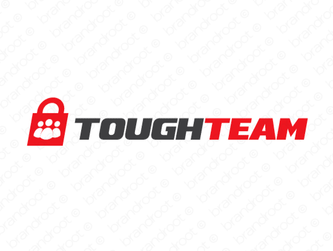 Toughteam logo design included with business name and domain name, Toughteam.com.