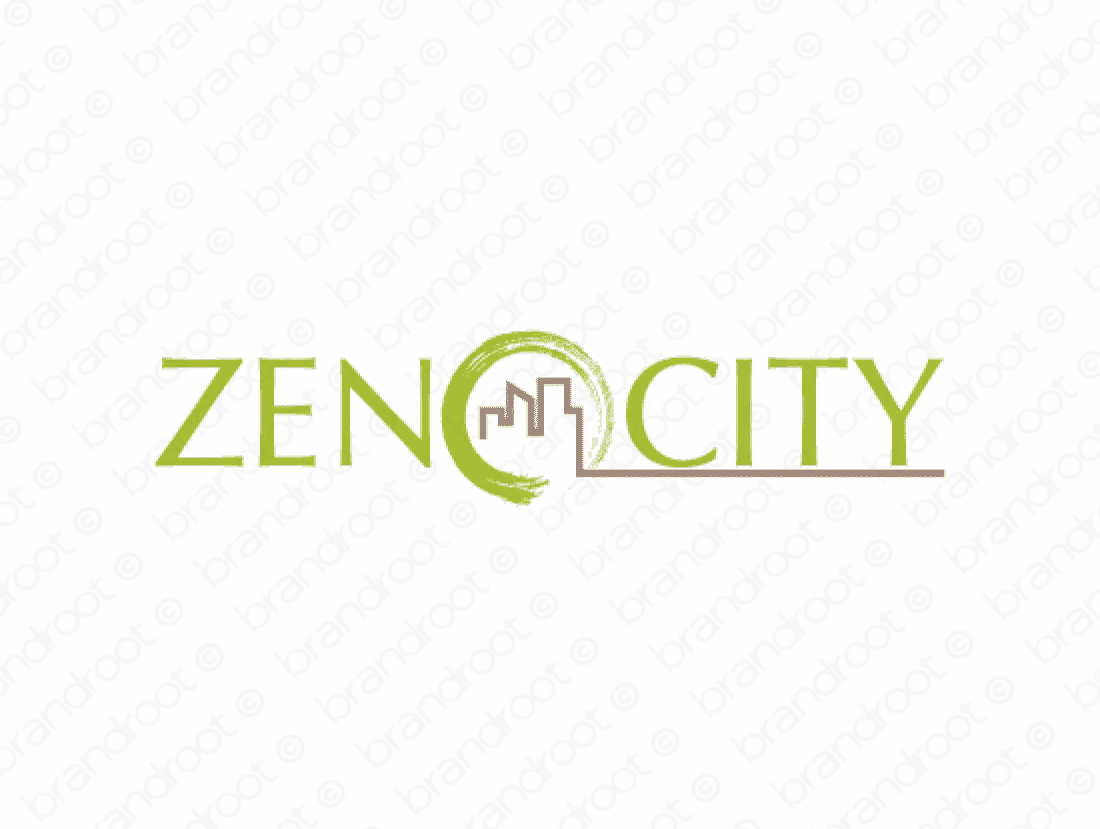 Zenocity logo design included with business name and domain name, Zenocity.com.