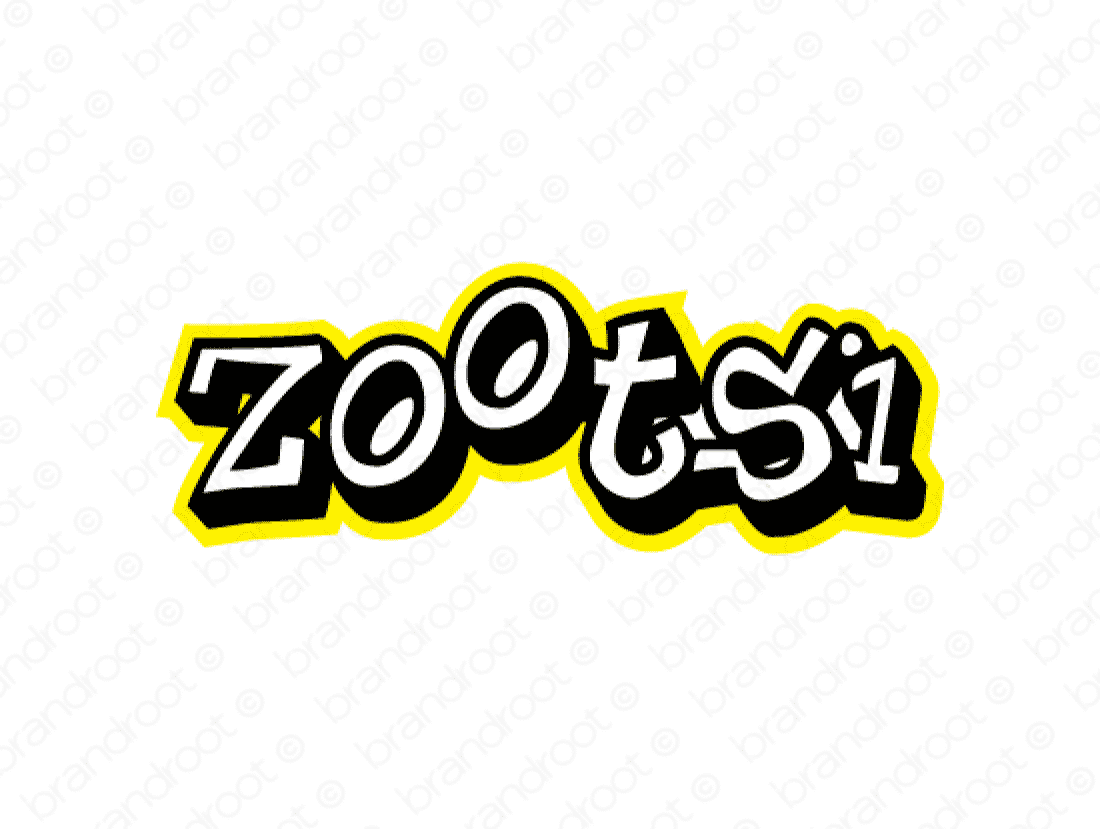Zootsi logo design included with business name and domain name, Zootsi.com.