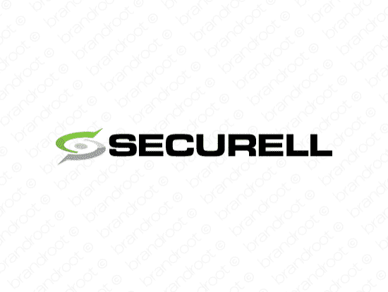 Securell logo design included with business name and domain name, Securell.com.