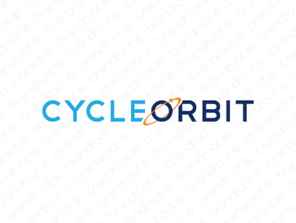 Cycleorbit logo design included with business name and domain name, Cycleorbit.com.