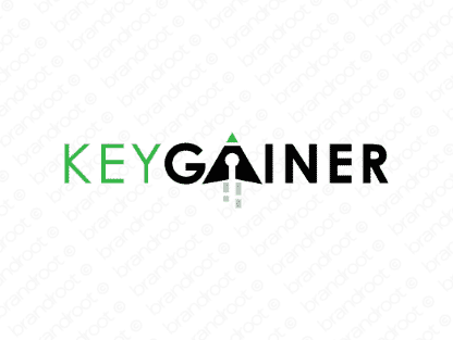 Keygainer.com, logo design included with business name and domain name, Keygainer.com.