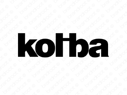 Koliba logo design included with business name and domain name, Koliba.com.