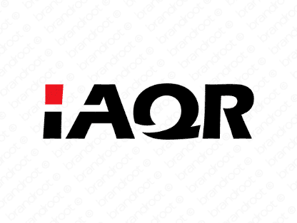 Laqr logo design included with business name and domain name, Laqr.com.
