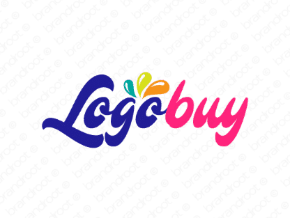 Logobuy logo design included with business name and domain name, Logobuy.com.
