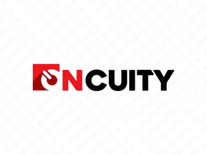Oncuity logo design included with business name and domain name, Oncuity.com.