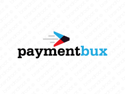 Paymentbux logo design included with business name and domain name, Paymentbux.com.