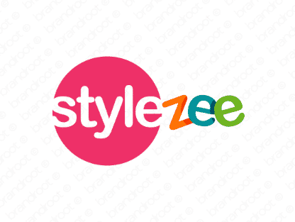 Stylezee logo design included with business name and domain name, Stylezee.com.