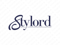Stylord logo design included with business name and domain name, Stylord.com.