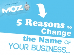5 Reasons to Change the Name of Your Business