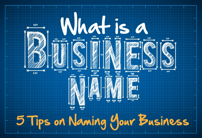 What is a Business Name? 5 Tips on Naming Your Business